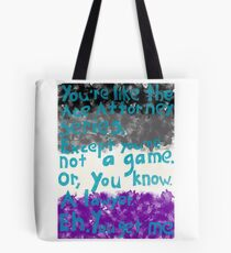 Coming Out: Asexual (1) Tote Bag
