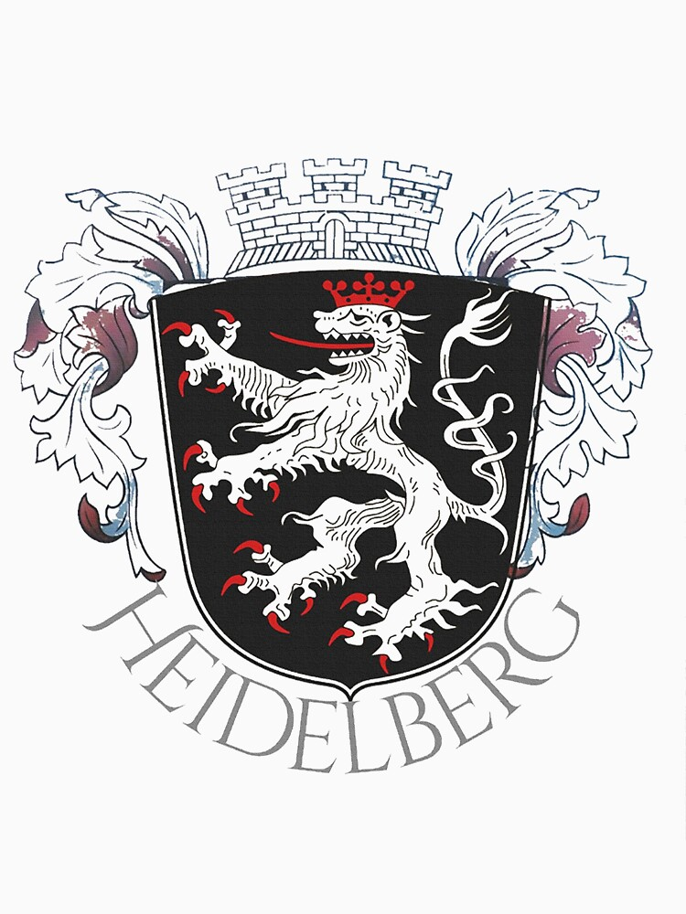Heidelberg Coat of Arms with embellishment by edsimoneit