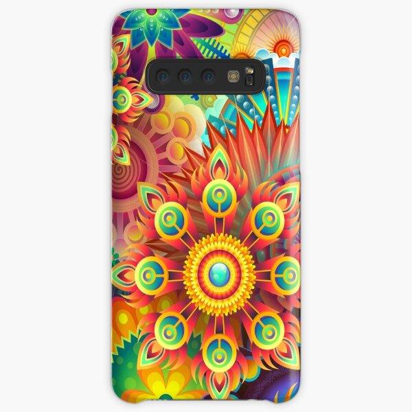 Abstracto colorido Funda rígida para Samsung Galaxy