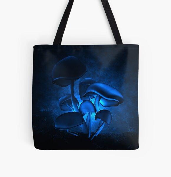 Backlit Fluorescence All Over Print Tote Bag