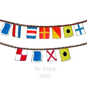 St Croix Nautical Flags by colleendavis72