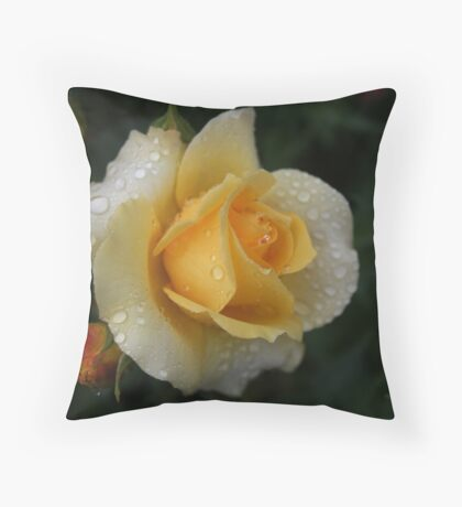 Yellow Rose Of Capel As Is Throw Pillow