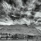 Apocolyptic  Clouds Over Wakatipu by Larry Davis