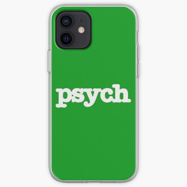 Psych Phone Case  iPhone Soft Case