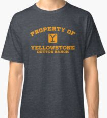 Property of Yellowstone Dutton Ranch Classic T-Shirt