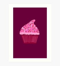 Cupcake Lesbian Art Print