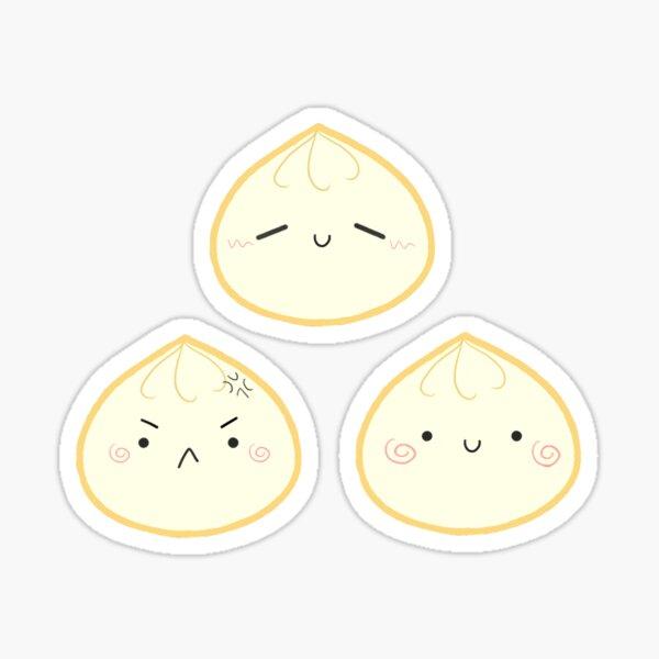 Steamed Bun Dumpling Sticker