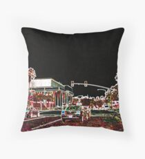Tampa Nightlights Throw Pillow