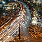 Melbourne Night Traffic by JohnKarmouche