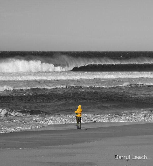 Waitpinga Beach Fishing by Darryl Leach
