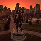 George Washington Monument, Boston by mattmacpherson