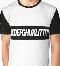 ALPHABET LITTT Graphic T-Shirt