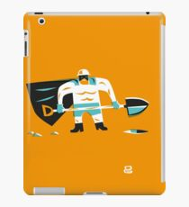 Super D (m) iPad Case/Skin