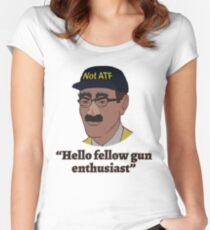 Hello Fellow Gun Enthusiasts Women's Fitted Scoop T-Shirt