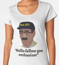 Hello Fellow Gun Enthusiasts Women's Premium T-Shirt