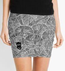 Minifalda Yarn Ball Pit en negro