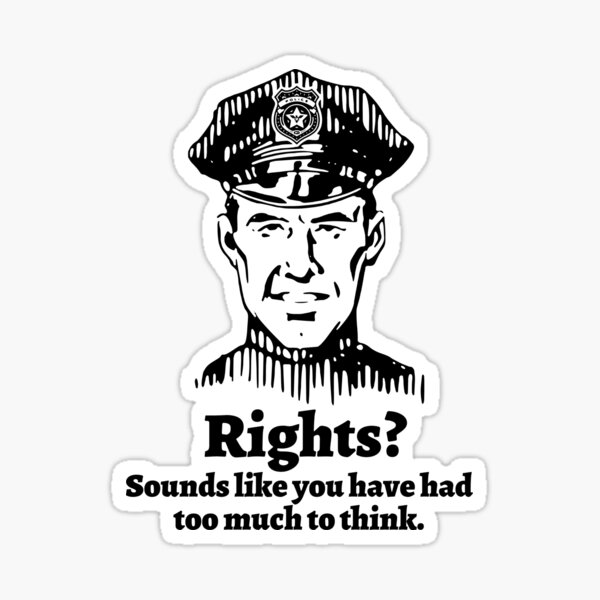 Rights? Sticker