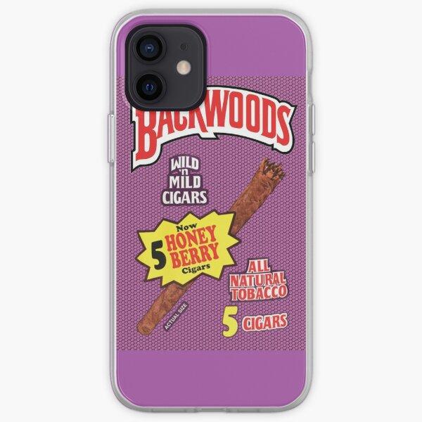 Backwoods Honey Berry Cigar Leafs iPhone Soft Case