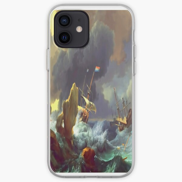 The Sea Takes Back iPhone Soft Case