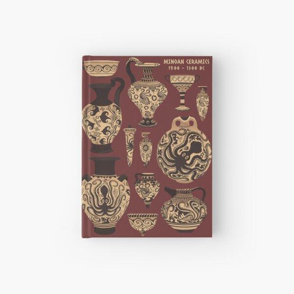Late Minoan Ceramics Hardcover Journal