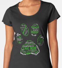 Chat Noir Women's Premium T-Shirt