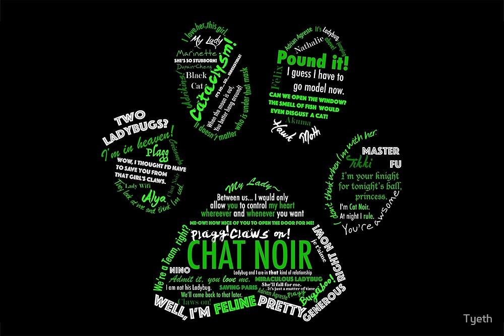 Chat Noir by Tyeth