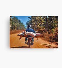 Heavy transport Canvas Print