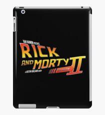 Rick and Morty Season 2 - BTTF Logo iPad Case/Skin