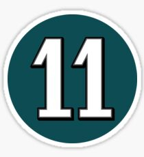 Carson Wentz Eleven Sticker