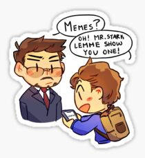Peter Really Likes His Memes Sticker