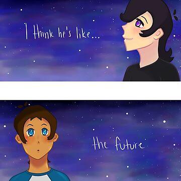 I think he's like the future by ColorfulKai