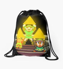 Link Evolution with Triforce Drawstring Bag