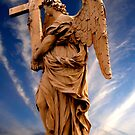 Angel with the Cross by John Wallace