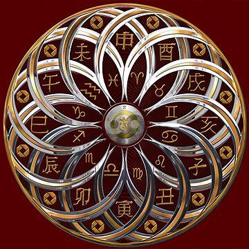 Astrological Mandala by hugh023