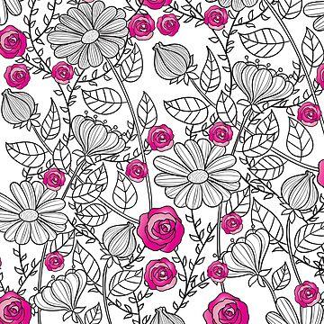 Pink Petals by TwinPowerTammy
