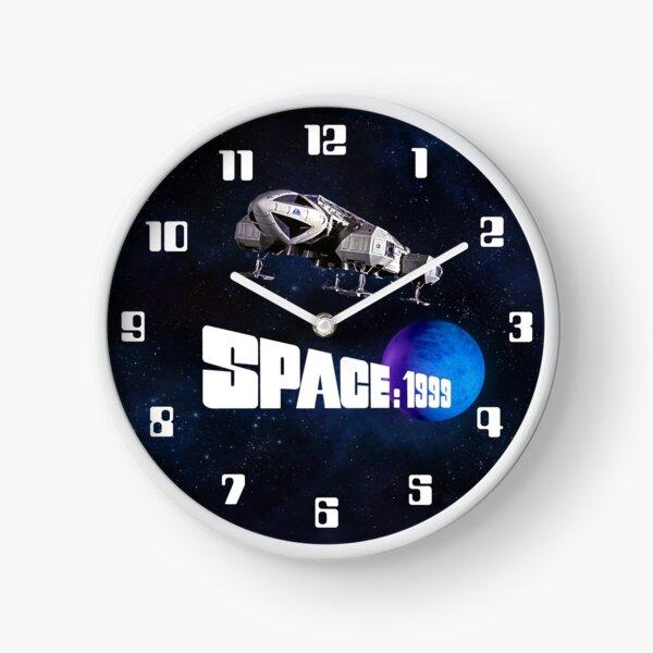 SPACE 1999 CLOCK 1 : EAGLE-LOGO-BLUE PLANET Clock