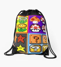 Mario Power-Up Evolution Drawstring Bag