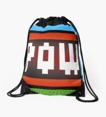 Big POW Drawstring Bag