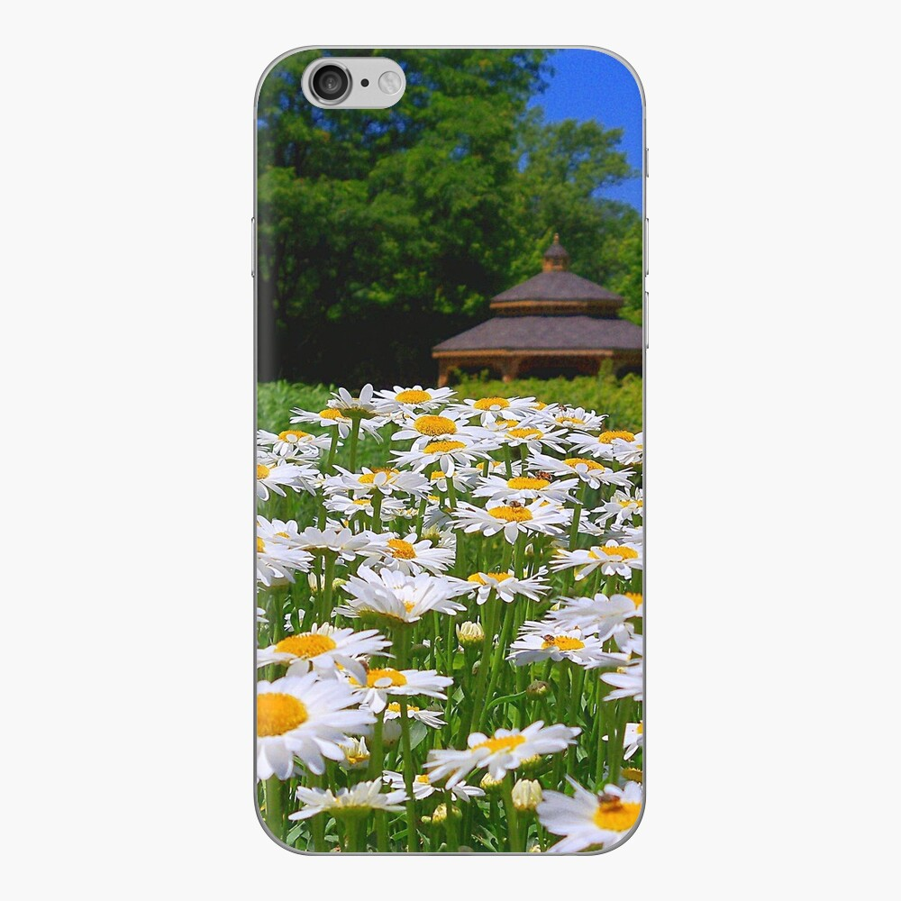 Pushing Up Daisies iPhone Skin