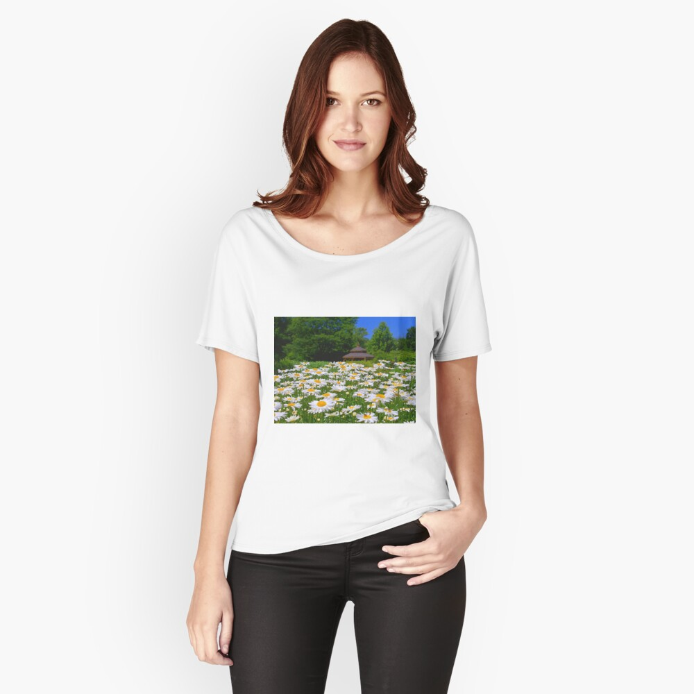 Pushing Up Daisies Relaxed Fit T-Shirt