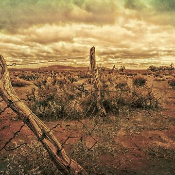 Old Fence by DVJPhotography