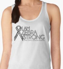 Zebra Strong- Ehlers Danlos Syndrome Awareness Women's Tank Top