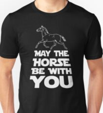 May The Horse Be With You Graphic Unisex T-Shirt