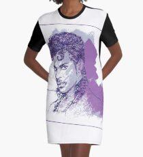 Farbe lila T-Shirt Kleid