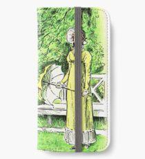 Pride and Prejudice Jane Austen Original Illustration iPhone Wallet/Case/Skin