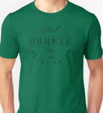 Trail Runner - Keep Races Green Distressed Graphic Unisex T-Shirt