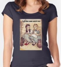 Alice and Dorothy Women's Fitted Scoop T-Shirt