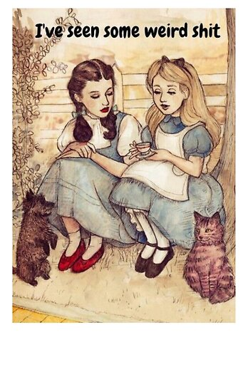 Alice and Dorothy by MworldTee
