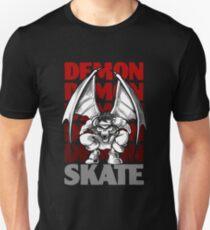 Skull Demon Skate, Skateboard Design Unisex T-Shirt