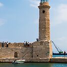 Rethymno Lighthouse by Rae Tucker